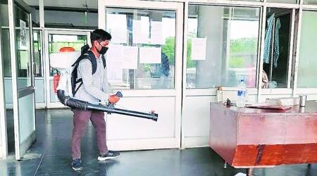 PU employee tests positive, two blocks closed till Friday