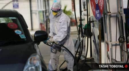 Punjab fuel station stir, Petrol Pump Dealers, Chandigarh news, Punjab news, Indian express news