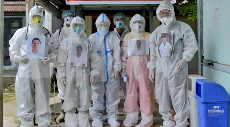 Covid care centers in changlang, North east, coronavirus, ppe kits, coronavirus cases india