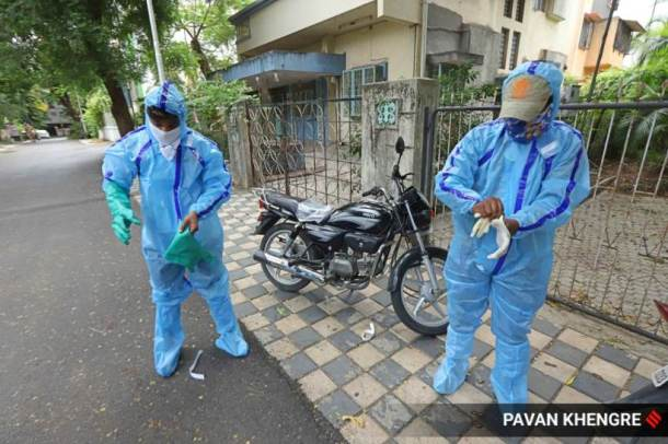 ppe kits, pune municipal corporation, pune coronavirus cases, coronavirus india, covid-19 outbreak, india news, indian express
