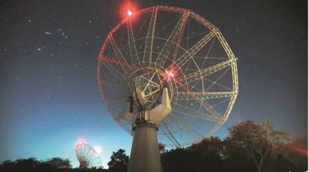 3 lakh light years away, dying radio galaxy detected with help of GMRT