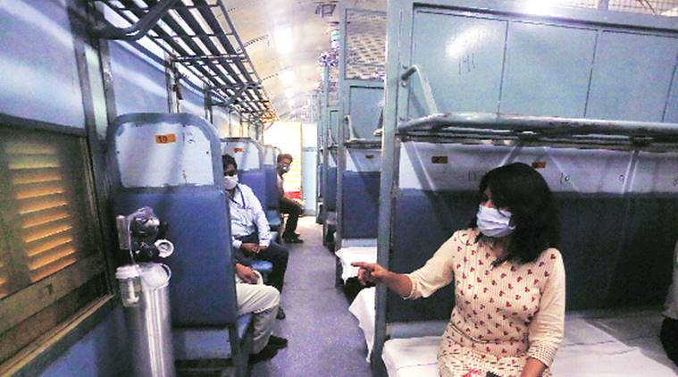 500 Railways coaches, smaller nursing homes to boost Delhi's Covid capacity  | Cities News,The Indian Express