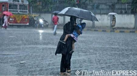 mumbai monsoon, mumbai rain, imd, imd mumbai weather update, imd mumbai weather forecast, southwest monsoon, indian express news