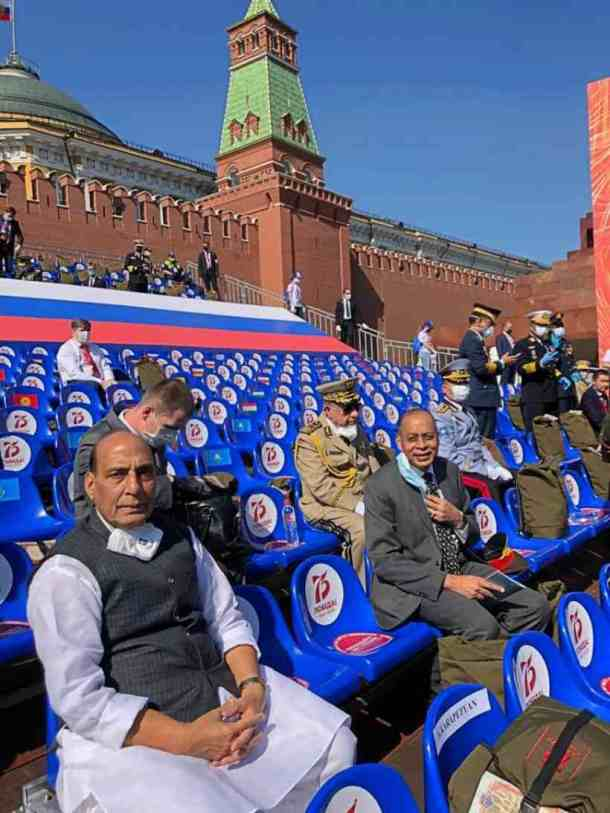 Victory Day parade, Moscow parade, Russia, Russia V day parade, Rajnath Singh, India V Day parade, Indian Express