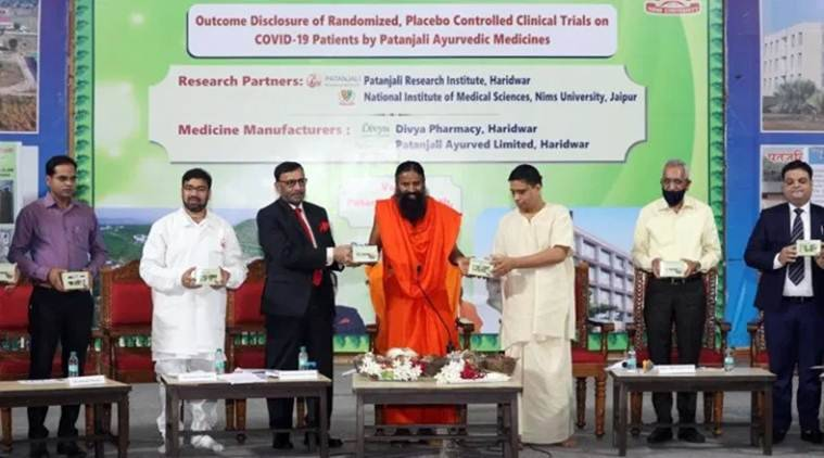 India: FIR has been registered against Guru Ramdev, Pantanjali CEO and four others for claiming COVID-19 drug