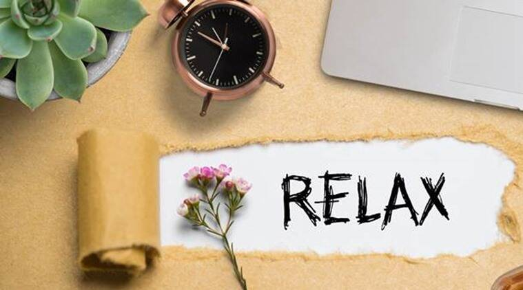 how to relax, stay calm, anxiety, deep breathing, indian express lifestyle