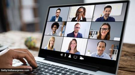 work from home, virtual meeting