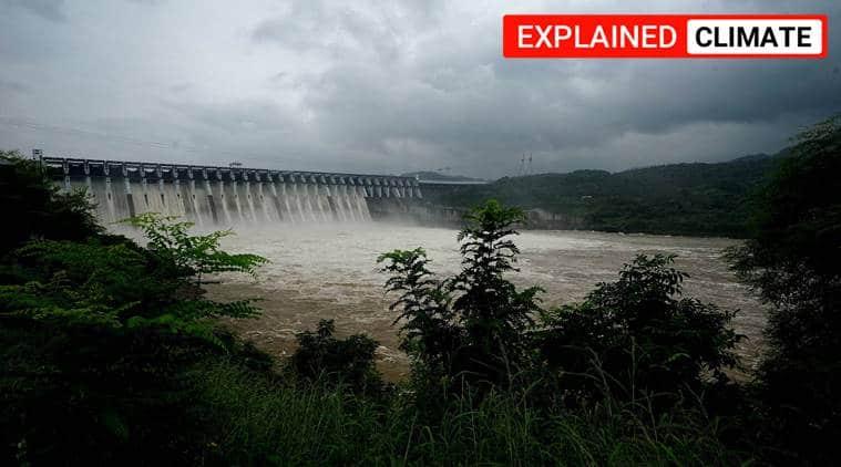 India reservoirs, India reservoir stock, India rainfall, southwest monsoon india, india water stock, indian express
