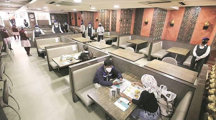 Coronavirus lockdown, Restaurants open, missing customers, Delhi news, Indian express news