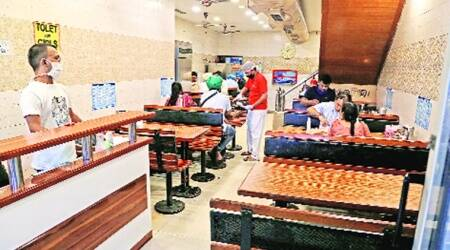 On day one of re-opening of dine-in service in Mohali, eateries get poor response