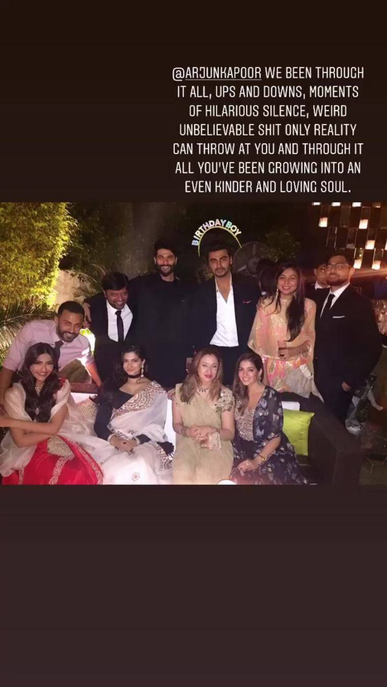 arjun kapoor family photo