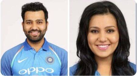 rohit sharma, Yuzvendra Chahal, Yuzvendra Chahal rohit sharma gender swap, face app gender swap, funny news, cricket news, sports news, indian express