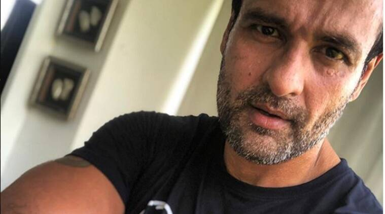 rohit roy fitness, indianexpress.com, indianexpress, rohit roy workout, compound exercises, workout at home, squats and deadlifts,