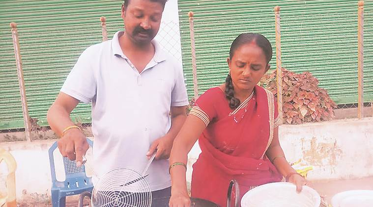 Meet private school principal in Telangana, forced to sell idli on a cart