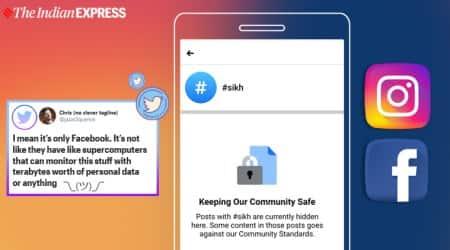 Instagram, facebook, sikh blocked instagram, hashtag sikh blocked, sikh blue star anniversary, indian express, tech news