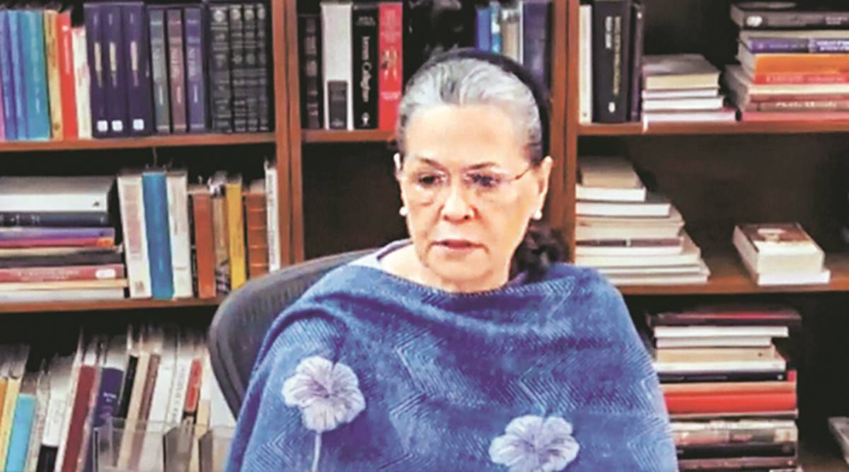 Congress reshuffle, Sonia Gandhi, Congress Working Committee, AICC president, Indian express news