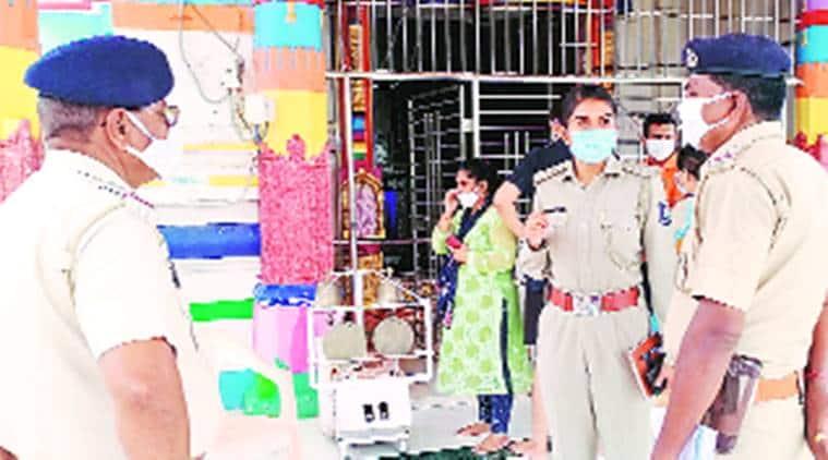 Narmada police, Shoolpaneshwar temple, silver articles stolen, temple theft, Gujarat news, indian express news