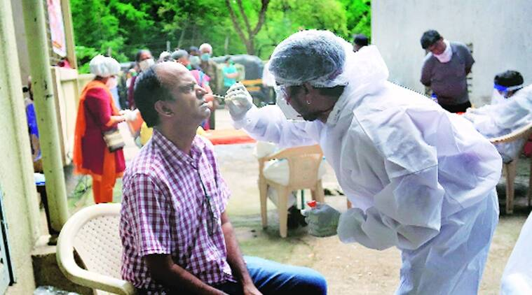 mumbai coronavirus news update, bmc, mumbai covid-19 cases, mumbai covid -19 test, bmc covid-19 test, indian express news