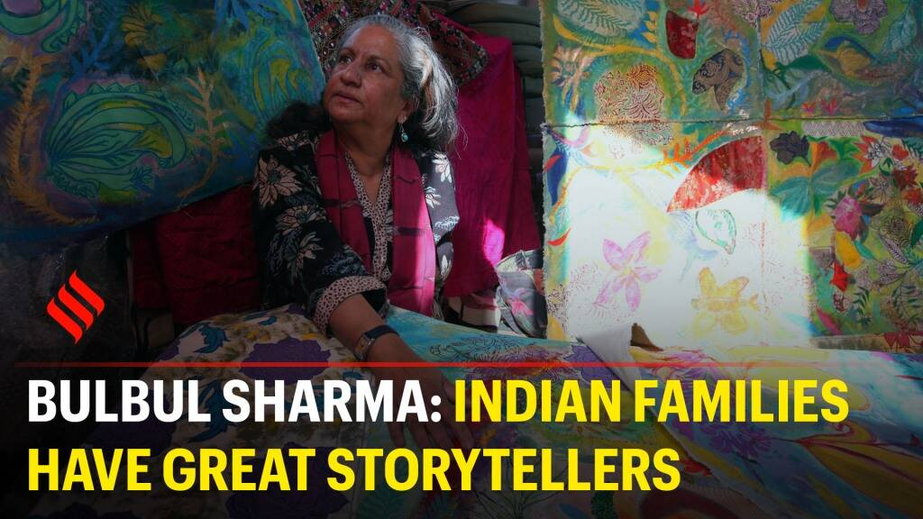 Bulbul Sharma: Indian families have great storytellers