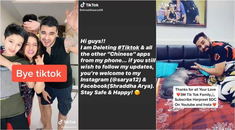 After ban on TikTok, content creators ask fans to support them on ...