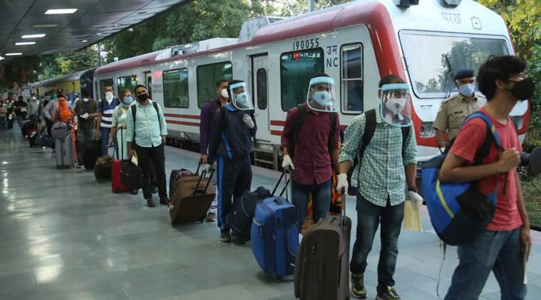 ac trains, Railways' air-conditioned trains, ac coaches, covid lockdown, india coronavirus cases, indian express