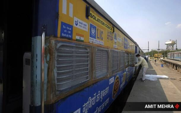 delhi coronavirus, railway coaches, isolation wards in trains, railway isolation coaches, arvind kejriwal, nursing homes covid beds, covid beds delhi, delhi city news, indian express news