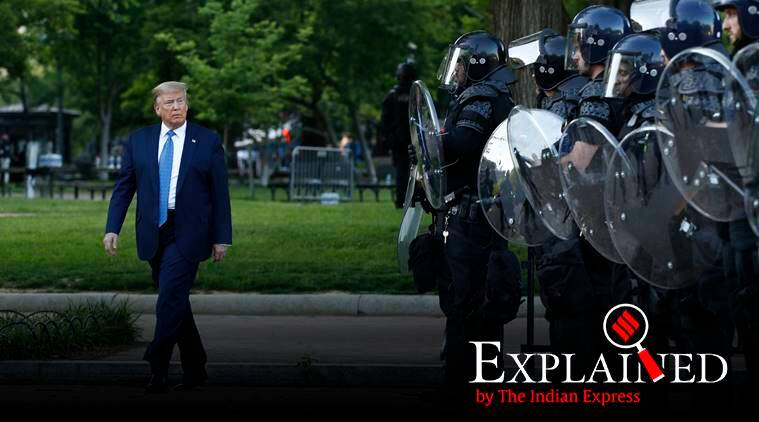 Explained: Can Trump send the US military to quell violence at protests?