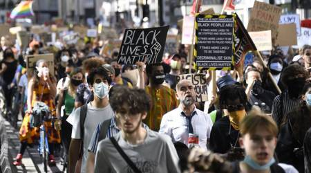 UK demonstrators hold fourth weekend of anti-racism protests