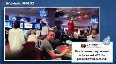 Las Vegas, reopening, COVID-19, Nevada, US Coronavirus update, Trending news, Indian Express news
