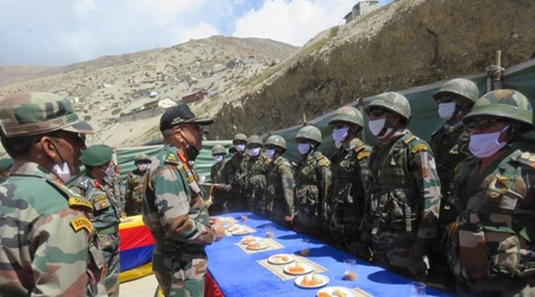 Western Army Commander visits Army posts, Western Army Commander, Western Army, India news, Indian Express