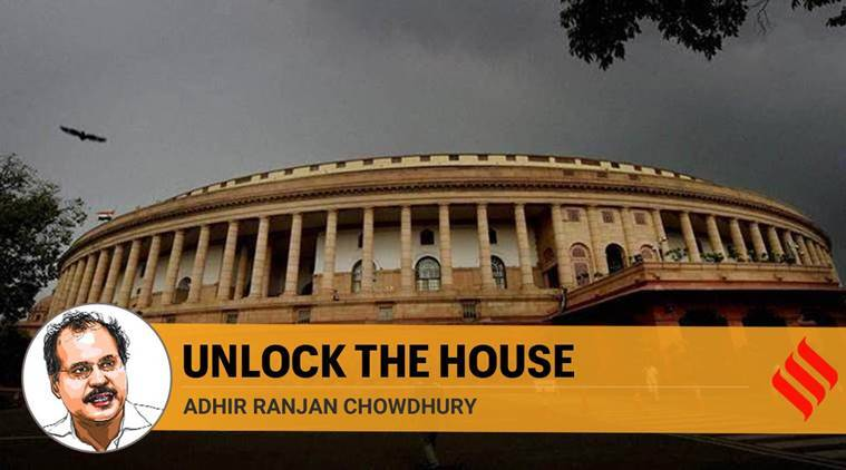 virtual Parliament session, Parliament session, Parliament monsoon session, Parliament opening debate, Adhir Ranjan Chowdhury writes,