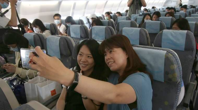 Taiwanese flight of fantasy, Taiwan pandemic flying, Taiwan's Civil Aviation Administration, indian express, indian express news