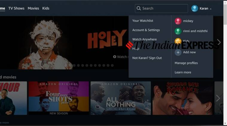 Amazon, Amazon Prime Video profile, Amazon Prime Video profile setup, set up Amazon Prime Video profile, Amazon Prime Video profile features, How to make Amazon Prime Video profile