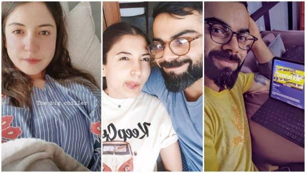 Anushka Sharma Virat Kohli quarantine life