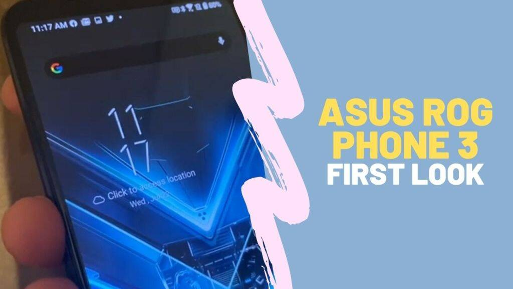 Asus ROG Phone 3: World's Most Powerful Gaming Smartphone