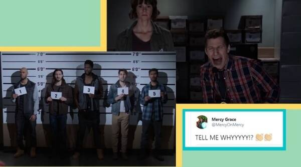 Mumbai police uses Brooklyn Nine Nine's popular 'Tell me why', trending indian express, indian express news