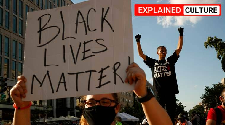 Black lives matter, capital B black, George Floyd protests, US protests, African Americans, Express explained, Indian Express