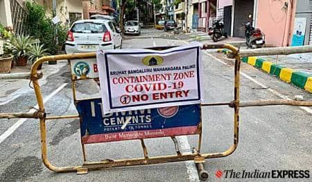 Pune Municipal Corporation, Pune containment zones, Pune news, Maharashtra news, Indian express news