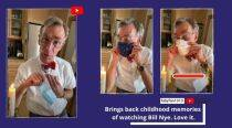Bill Nye explains the importance of masks in his latest science experiment