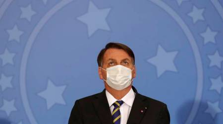 Jair Bolsonaro, Bolsonaro coronavirus, VBrazil Covid cases, Bolsonaro public event,
