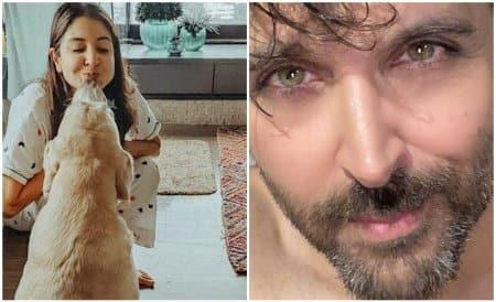 Celebrity social media photos, Anushka Sharma, Hrithik Roshan