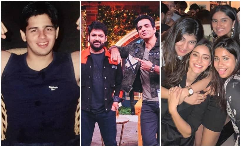 Celebrity social media photos, Sidharth Malhotra, Kapil Sharma, Ananya Panday