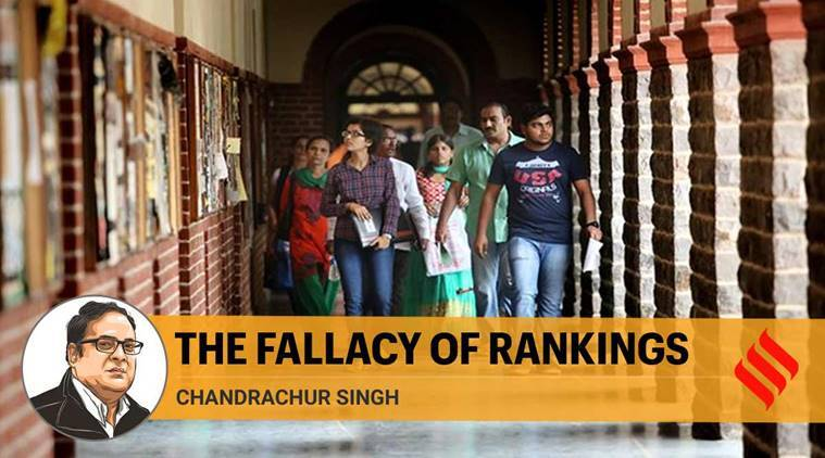 Rating of colleges, educational institutions, indian express columns, indian express opinions, Indian higher education, indian universities ranking, Chandrachur Singh writes, delhi university rankings,
