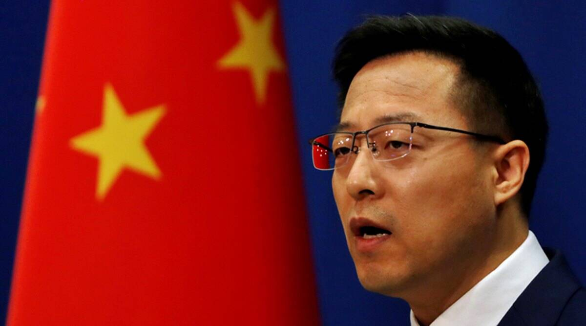 Chinese Foreign Ministry, Zhao Lijian, China COVID-19, COVID-19 test in China, US diplomats in China, China anal testing COVID-19, indian express, world news