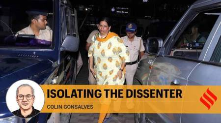 Sudha Bharadwaj, Sudha Bharadwaj bail rejection, UAPA act, indian express opinion, Colin Gonsalves opinion,