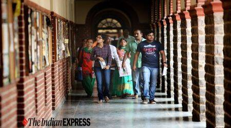 du, du admission, delhi university admission, delhi university news, du news, indian express