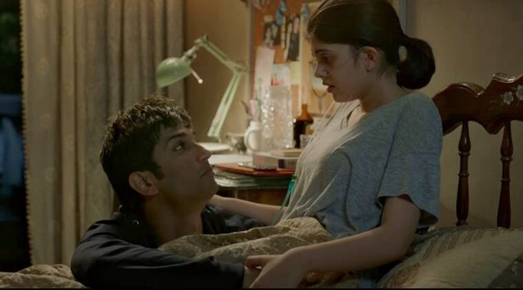 Dil bechara sushant singh rajput sanjana sanghi the fault in our stars