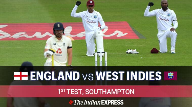 England vs West Indies 1st Test Day 2 Live Cricket Score Updates: Stokes, Buttler keep ENG steady after lunch
