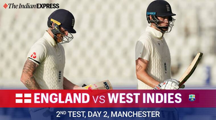 England vs West Indies, 2nd Test Day 2 Highlights: At Stumps, WI trail by  437 runs | Sports News,The Indian Express