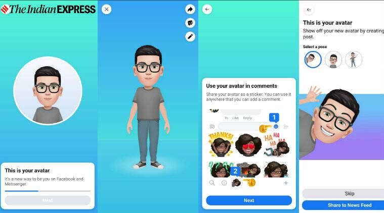 Facebook Avatar Feature How To Create Your Own Facebook Avatar Now Available In India